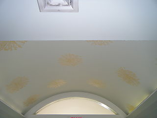 Arched ceiling far