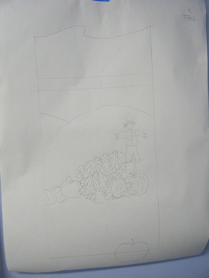 Fall sketch