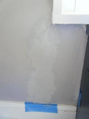 Crack in repair