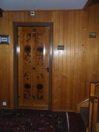 Stenciled door1