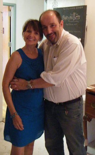 Me and marc @ Tasha's