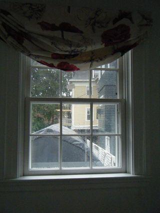 Powder room window