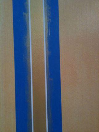 Detail of stripe tape
