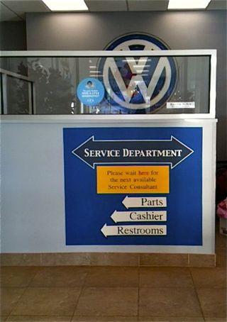 Vw sign A
