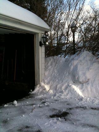 Snow garage