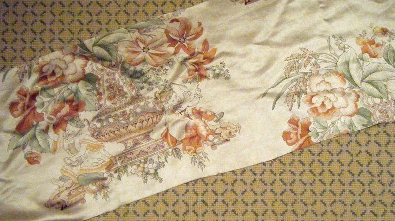Rug and fabric