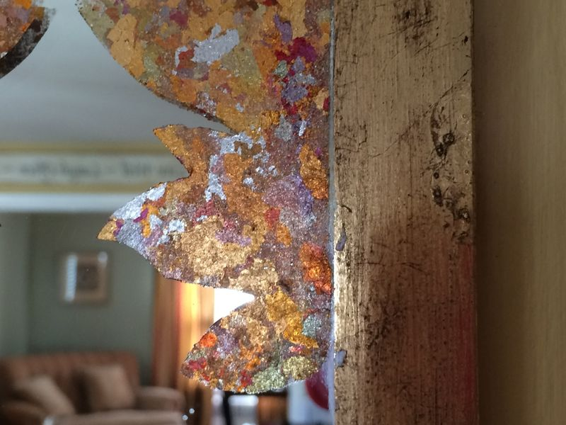 Close up frame:leaf