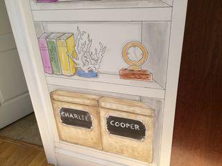 Lower shelves